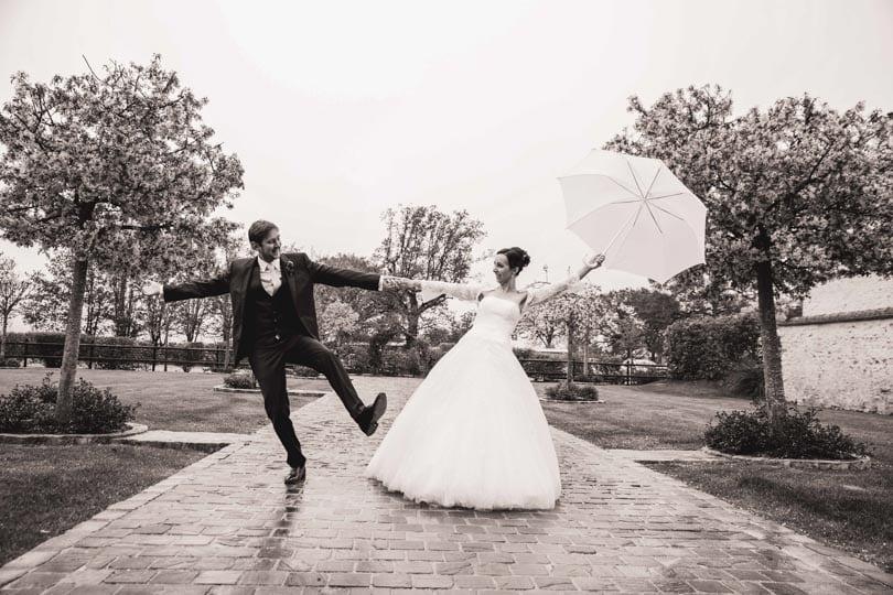 Et s'il pleut à mon mariage?