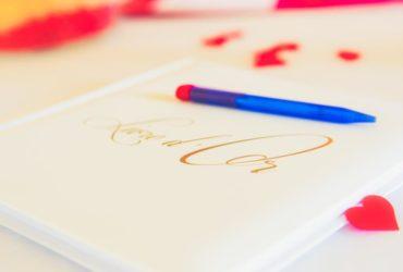 Écrire ses vœux