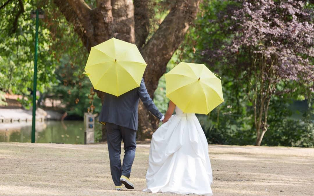 pluie pendant le mariage