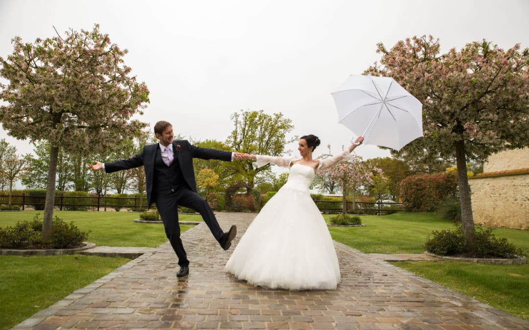 pluie mariage